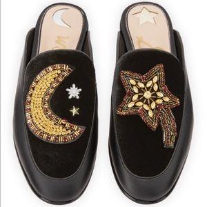Sam Edelman Star & Moon Pemberly Mule Loafers